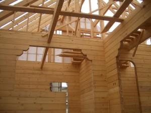 小屋組垂木掛け
